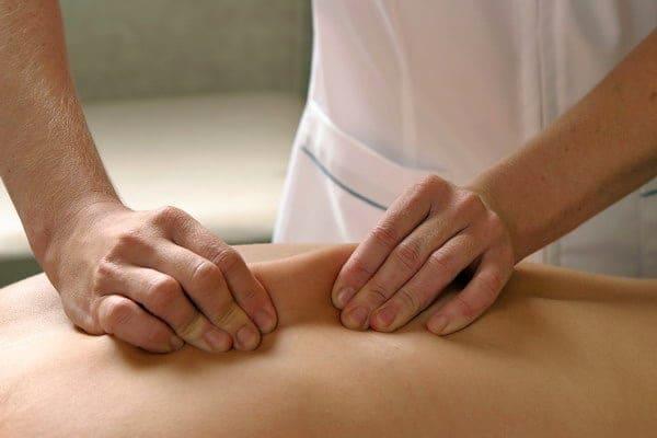 Разминание массаж